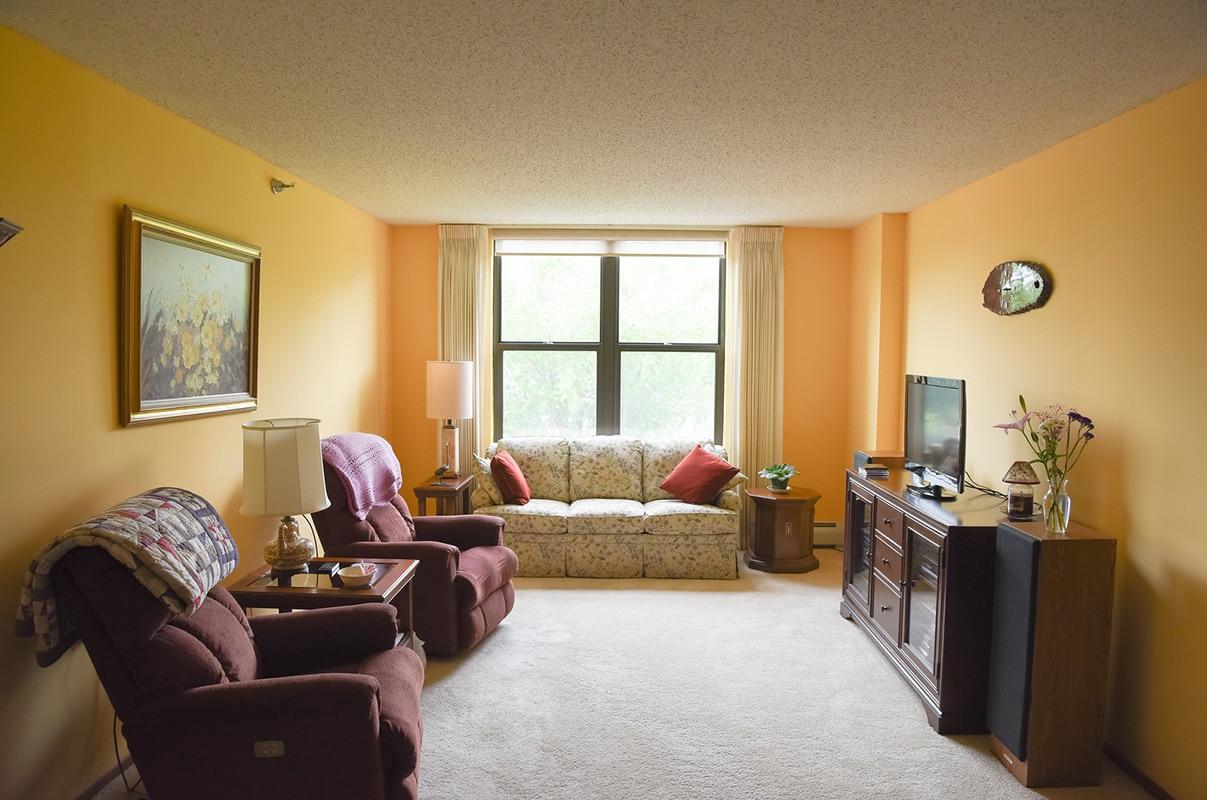 Nokomis Square Cooperative Living Room