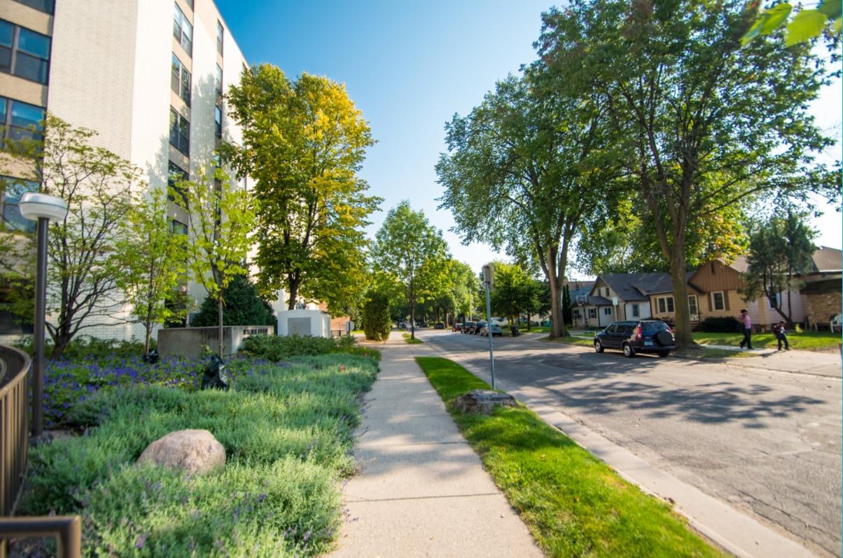 Nokomis Square Cooperative Street in Minneapolis