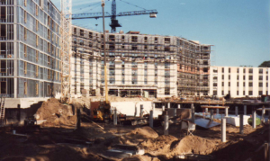 Nokomis Square Cooperative, Minneapolis MN, construction